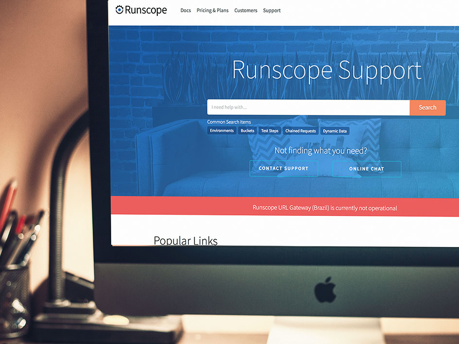 Runscope Support
